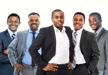 men wearing suit